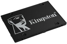 "Kingston KC600 256GB 512GB 1TB 2TB 2.5"" SATA III 3D TLC SKC600 Internal SSD Lot"