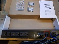 Eaton Hotswap MBP-115 Rack mount 6-Outlet AC Power Unit (new in box!)