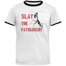 Praying Mantis Slay the Patriarchy Mens Ringer T Shirt