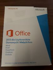 Microsoft Office 2013 Home and Business h&b/VERSIONE COMPLETA/PKC * NUOVO *