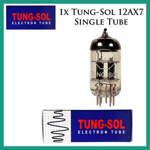 New 1x Tung-Sol 12AX7 / ECC83 | One / Single Tube | Free Ship