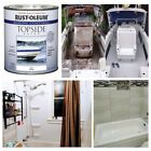Marine Coating Gloss White Paint Smooth Boat Uv Resistant Fiberglass Wood Metal