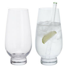 Dartington Crystal Gin Connoisseur Highball Glasses, One Pair, NEW