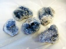 CELESTITE SEA BLUE CRYSTAL CLUSTER medium  MADAGASCAR gift healing