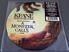 "NEU RSD 2017 7"" PICTURE Vinyl KEANE Tear Up This Town A Monster Calls + Download"