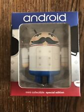 ANDROID MINI SPECIAL EDITION FRENCH CHEF Andrew Bell Figure Google NEW IN BOX