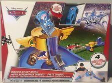 NIP Disney PIXAR CARS DINOCO STUNT SHOW Playset Stunt Motor Included Set RARE
