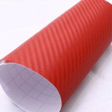 autocollant vinyl carbone rouge film thermoformable 200 x 50cm tuning auto moto