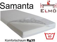 Komfortschaum Schaumstoff Kaltschaum Matratze Samanta RG 35Kg/m³ Made in Germany