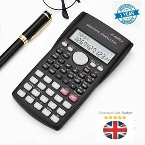 12 DIGITS SCIENTIFIC ELECTRONIC CALCULATOR For OFFICE SCHOOL EXAMS GCSE WORK UK