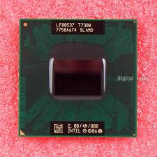 Intel Core 2 Duo T7300 2 GHz Dual-Core CPU Processor SLAMD LF80537T7300