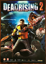 Dead Rising 2 PS3 XBox 360 Original Video Game Promo Poster 43x60cm #1