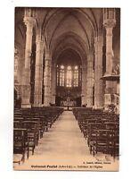 44 - cpa - Guémené Francisco - innen der Kirche (A618)