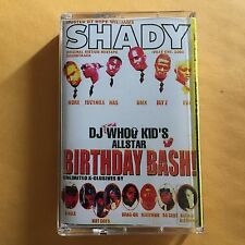 Dj Whoo Kid Club Shady Birthday Bash NYC 90s Mixtape Cassette Tape Queens