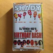 Dj Whoo Kid Club Shady Birthday Bash NYC 90s Mixtape Cassette Tape Queens