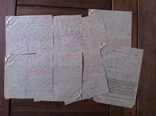 ARENE Emmanuel - Manuscrit : La vie courante. -