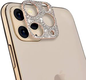 For iPhone 12 Pro Max FULL COVER Camera Lens Protector Diamond Bling Sticker
