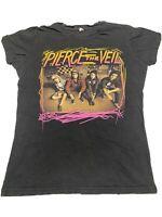 Vintage Look Pierce The Veil T-Shirt Women's Size Small  (A66)