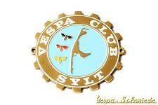 "METALLO-PLACCA ""VESPA CLUB Sylt"" - GERMANIA GERMANY VCD emblema email v50 PX"