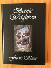 WRIGHTSON Freak Show NM hardcover 1997 The Stand portfolio  Stephen King