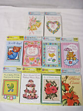 Invitations Birth Announcements Assorted 8 Packs of Cards & Envelopes New In Pkg