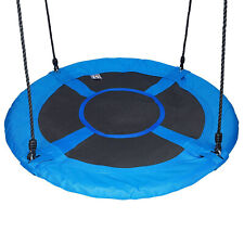 "Giant Mix-Color 40"" Disc Swing Seat Saucer Tree Swing Nest Playground Toy Set"