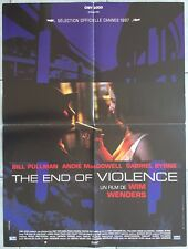 Affiche THE END OF VIOLENCE Traci Lind WIM WENDERS Rosalind Chao 60x80cm *