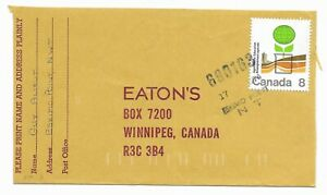 MOON #690163 Eskimo Point NWT 1974 Canada Cover