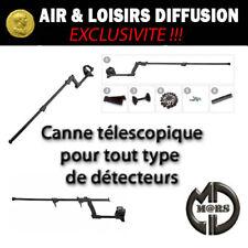Canne universelle MARS pour détecteurs de métaux, Garrett, XP, White's, Tésoro..