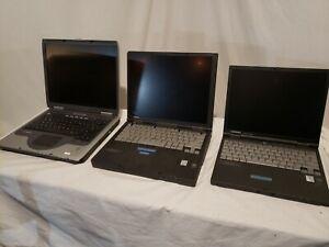 """*Lot of 2* Vintage Compaq Armada M300 M700 14"""" Laptop/Notebook Pentium 2 & 3"""