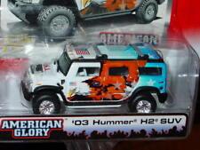 Johnny White Lightning STREET FREAKS 2003 03 HUMMER H2 SUV -White/Blue, NICE!