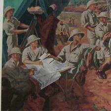 Iacovleff Alexandre L' équipe de la Croisière noire ARTISTE RUSSE 1930 Citroen