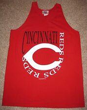 VTG Cincinnati Reds Tank Top T Shirt XL Votto Cueto Hamilton Chapman vintage