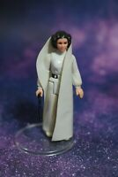 VINTAGE Star Wars COMPLETE Princess Leia ACTION FIGURE KENNER blaster gun white