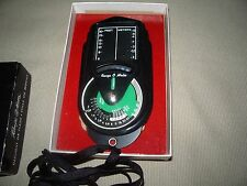 UTILITRON/PELCO VINTAGE RANGE FINDER/LIGHT METER  IN ORIGINAL BOX (ca) 1950