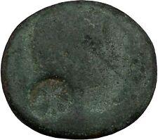 AUIGUSTUS 27BC Legionary? Eagle Countermark Provincial Roman Coin Serapis i44422
