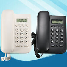 Desktop Landline Phone Home Office Wall Mounted Phone Corded LCD Desktop US Sale