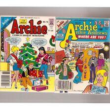 D768 Lot Of 4 Archie Type Digest Size 1980's Comic Books