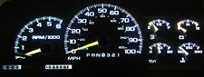CHEVY TAHOE 1999 - 2002 WHITE LED SPEEDOMETER GAUGE CLUSTER UPGRADE KIT