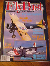 FLYPAST MAG SEPT 1987 KEENAIR WARBIRDS TIGERS IN PORTUGAL GRUMMAN ALBATROSS