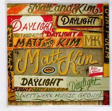 (GJ447) Matt & Kim, Daylight - 2009 DJ CD