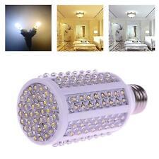 E27 9W 166 F5 LED Corn Spotlight Light Lamp Bulb AC220V Warm White