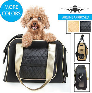 Airline Approved Mystique Fashion Designer Travel Pet Dog & Cat Carrier Tote Bag