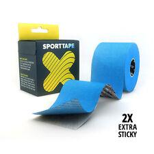SPORTTAPE Kinesiology Tape - Waterproof, Hypoallergenic Muscle Physio Tape