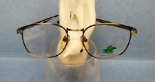 New Vintage Beverly Hills Polo Club Eyeglasses Antique Silver/Black Fusion Frame