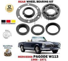 para MERCEDES PAGODE W113 250sl 280sl 1966-1971 Kit de rodamientos rueda trasera