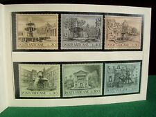 Vatican City set no.153 European Architectural Heritage Presentation Pack 1975