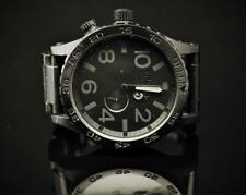 "Nixon Simplify ""The 51-30 Chrono"" Black SS Men's 300M Chronograph Watch"