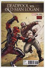DEADPOOL VS. OLD MAN LOGAN #1,2,3,4,5 Marvel Comics Wolverine VARIANT COVERS SET