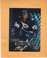 2003 04 UPPER DECK GEORGES LARAQUE TOUGH CUSTOMERS #TC12 EDMONTON OILERS